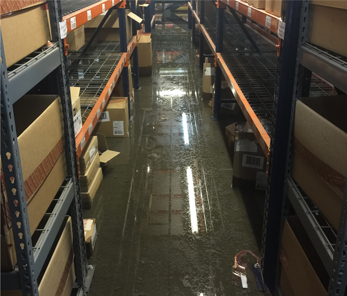 Flooded Commercial Facility - Hurst, TX
