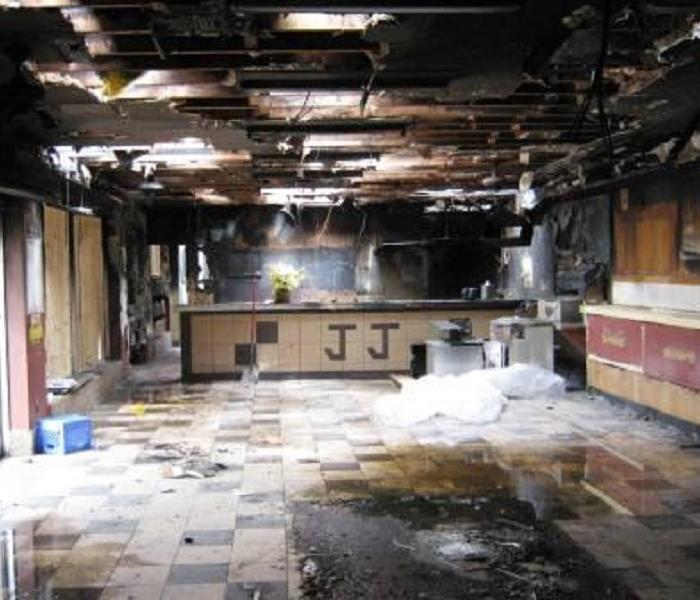 Commercial Fire Damage - Euless, Texas